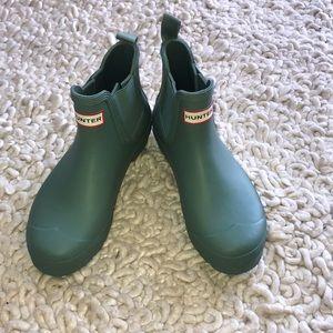 Short Hunter rain boots!